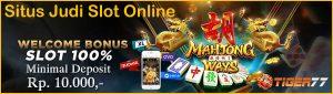 Daftar Situs Judi Slot Online Provider Terlengkap Deposit Pulsa 10rb